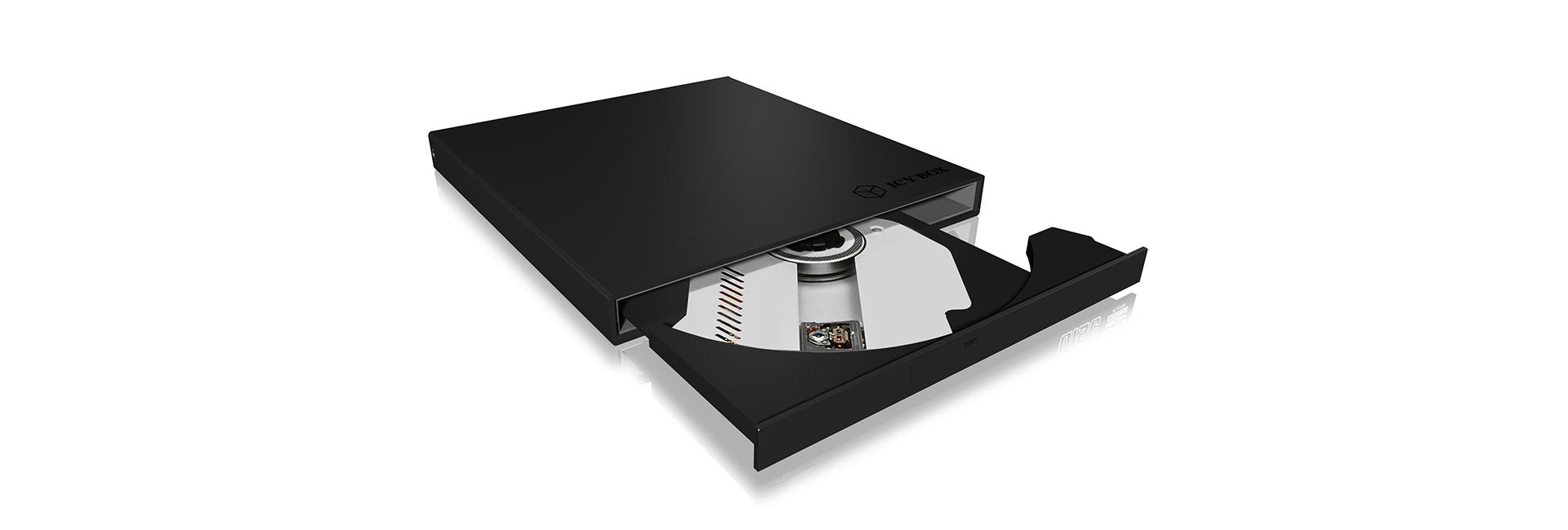 "ICY BOX IB-AC640a ODD enclosure 13.3 cm (5.25"") SATA Black"