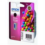 Epson C13T02840110 (T028) Ink cartridge black, 600 pages @ 5% coverage, 17ml