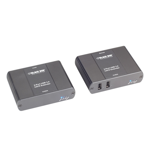 Black Box IC402A-R2 network extender Network transmitter & receiver