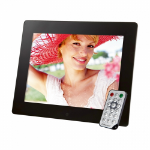 "Intenso 9.7"" Media Gallery 9.7"" Black digital photo frame"