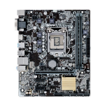ASUS H110, mATX, LGA1151, 2DDR4, 1xD-SUB, 1xHDMI, 1xPCIe3.0, 2xPCIe2.0, SATA 6Gb/s*4