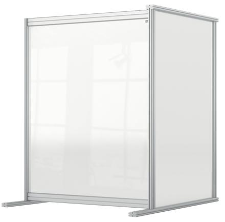 Nobo 1915497 magnetic board Grey, Transparent