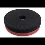 Digitus Hook and loop cable management system, mushroom fastener 5m, hook and loop tape 10m