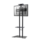 "Newstar PLASMA-M1700ES 55"" Fixed flat panel floor stand Black flat panel floorstand"