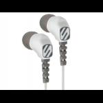 Scosche thudBUDS Sport Grey,White Intraaural In-ear
