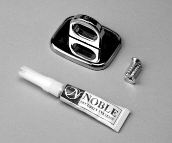 Maclocks Anchor Point Chrome cable lock
