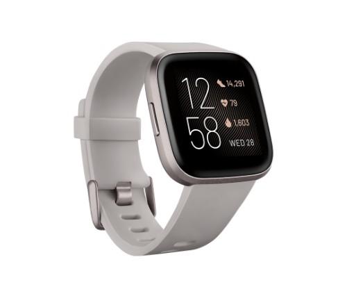 "Fitbit Versa 2 smartwatch Black,Grey AMOLED 3.55 cm (1.4"")"