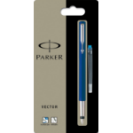 Parker VECTOR FPEN BLUE MEDIUM 67507