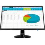 "HP N246v computer monitor 60.5 cm (23.8"") Full HD LED Flat Matt Black"