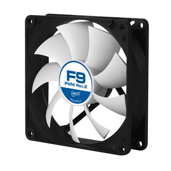 ARCTIC F9 PWM - 4-Pin PWM fan with standard case