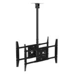 "Hagor 7226 flat panel ceiling mount 160 cm (63"") Black"