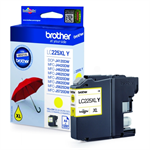 Brother LC-225XLY Ink cartridge yellow, 1.2K pages, 12ml LC225XLY
