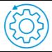 HP Servicio premium de 3 años de gestión proactiva DaaS al siguiente día laborable in situ y retención de soportes defectuosos para RPOS