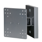 """R-Go Tools R-Go Steel Hook Up Wall Mount, up to 27"""", Max weight 10kg, adjustable, silver"""