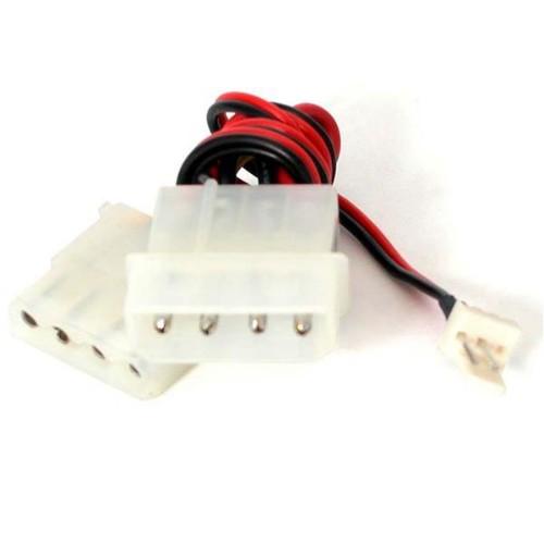 StarTech.com 12in Fan Adapter - TX3 to 2x LP4 Power Y Splitter Cable