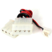 StarTech.com 12in Fan Adapter - TX3 to 2x LP4 Power Y Splitter Cable