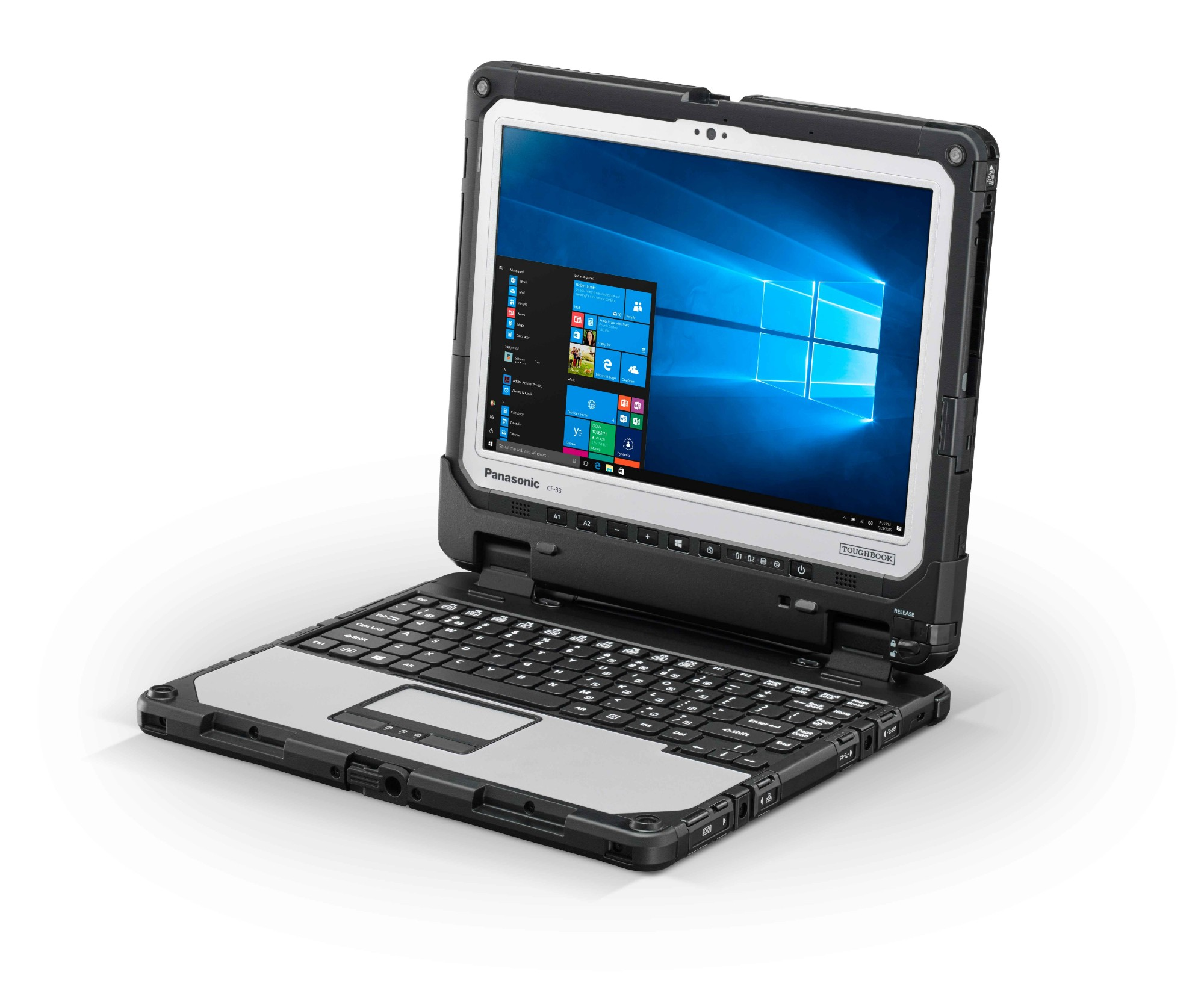 Panasonic Toughbook CF-33 - Tablet - with keyboard dock - Core i5 7300U / 2.6 GHz - Win 10 Pro - 8 G