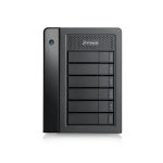 Promise Technology Pegasus3 Symply Edition R6 disk array 24 TB Tower Black