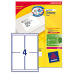 Avery White Address Label - Laser - L7169 White