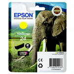 Epson C13T24244010 (24) Ink cartridge yellow, 360 pages, 5ml