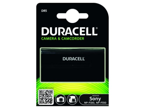 Duracell Camcorder Battery - replaces Sony NP-F330/NP-F550 Battery