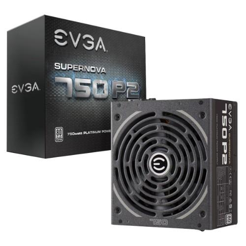 EVGA SuperNOVA 750 P2 power supply unit 750 W Black