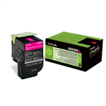 Lexmark 80C2XM0 (802XM) Toner magenta, 4K pages