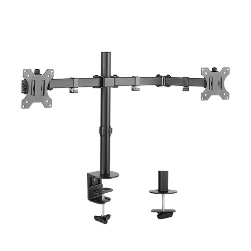 "Brateck Economy Dual Monitor Steel Monitor Arm 13""-32"""