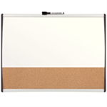 Nobo Quartet Combination Board Arched Frame 585x430mm DD
