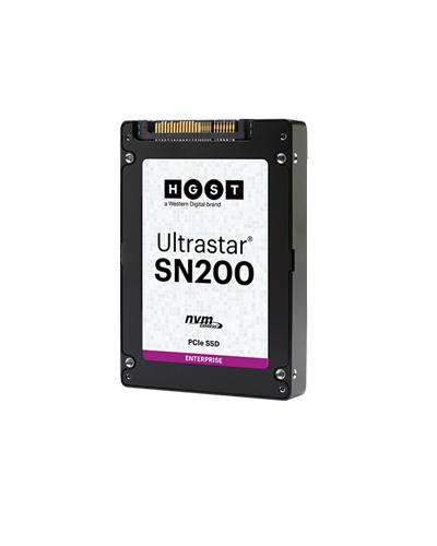 "Western Digital Ultrastar SN200 2.5"" 3200 GB PCI Express 3.0 MLC NVMe"