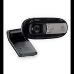 Logitech C170 5MP 640 x 480Pixeles USB 2.0 Negro cámara web