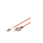 Microconnect FIB4200005 fiber optic cable 0.5 m OM1 LC SC Orange