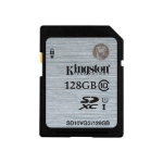 Kingston Technology 128GB SDHC Class10 UHS-I 80MB/s Read Flash Card Far East Retail