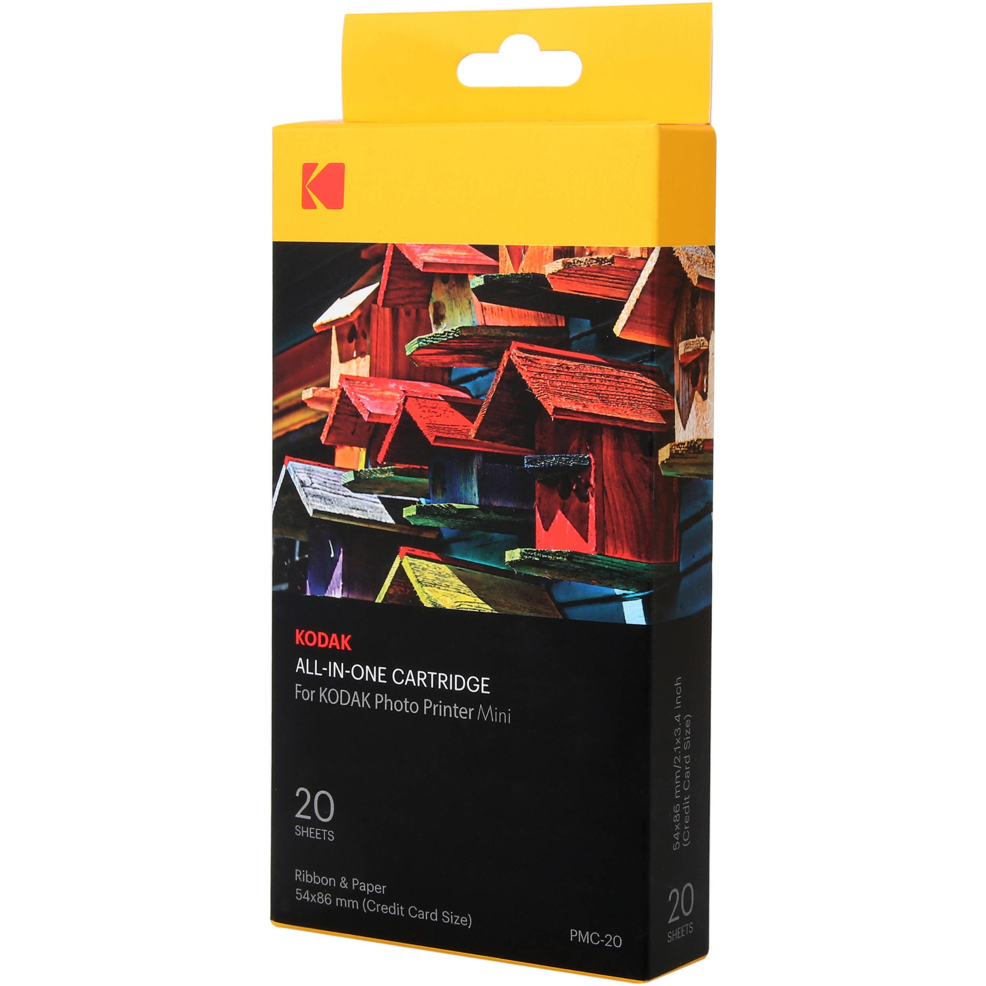 Kodak PMC-20 Photo cartridge, 20 pages, Pack qty 1