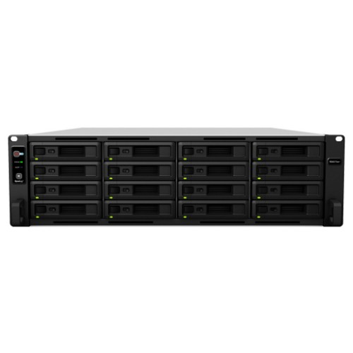 Synology RS4017XS+/256TB-SE NAS/storage server Rack (3U) Black,Grey