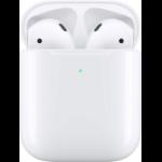 Apple AirPods (2nd generation) MV7N2ZM/A headphones/headset Kopfhörer im Ohr Bluetooth Weiß