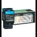 Lexmark C54x, X54x Cyan Return Programme Toner Cartridge (1K) Original Cian