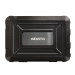 "ADATA ED600 2.5"" HDD/SSD enclosure Black"