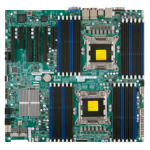 Supermicro X9DR3-LN4F+ Intel C606 Socket R (LGA 2011) Extended ATX server/workstation motherboard