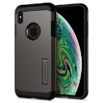 """Spigen 065CS25131 mobiele telefoon behuizingen 16,5 cm (6.5"""") Hoes Zwart, Metallic"""