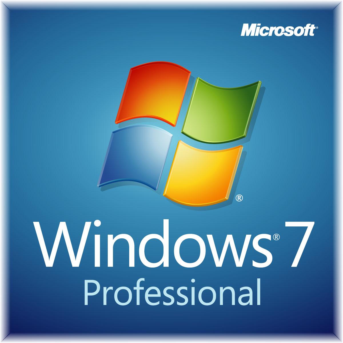 Microsoft Windows 7 Professional, SP1, x32/x64, OEM, DSP, DVD, ENG