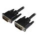 StarTech.com Cable de 1,8m DVI-D de Enlace Único - Macho a Macho