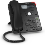 Snom D712 IP phone Black 4 lines