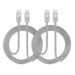 """Siig CB-US0L11-S1 mobile phone cable USB-C Zinc 39.6"""" (1.01 m)"""