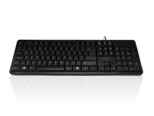 Accuratus 276 V3 keyboard USB QWERTY UK English Black