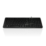 Accuratus 276 V3 USB QWERTY UK English Black keyboard
