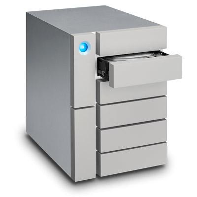 LaCie 24TB 6big Thunderbolt 3 24000GB Desktop Silver disk array