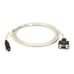 Black Box Mini DIN/DB9, 1.8m printer cable Ivory