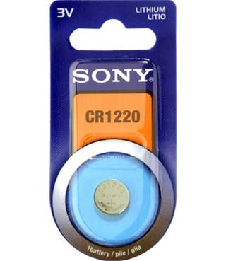 Sony LITHIUM COIN CELL MINI LITHIUM