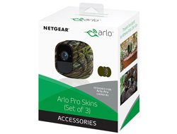Netgear Arlo Pro Skins - Camera protective cover - indoor, outdoor - green, camouflage
